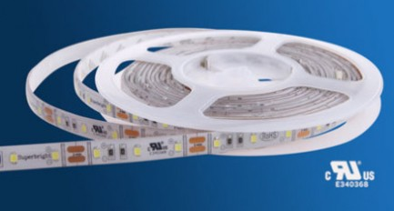 Фото1 R6060TA-C-W Светодиодная герметичная лента, 60 SMD 2835, 12VDC, белый 6500К