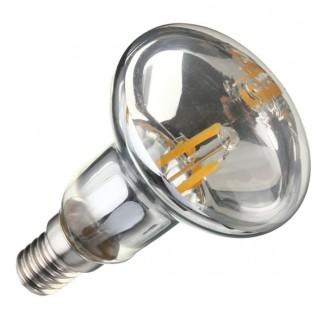 Фото2 SLL E14-R50-4W - LED лампа филамент, 4W, тип R50, цоколь E14, рефлектор