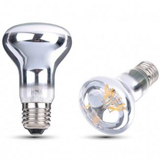 Фото1 SLL E27-R63-4W - LED лампа филамент, 4W, тип R63, цоколь E27, рефлектор