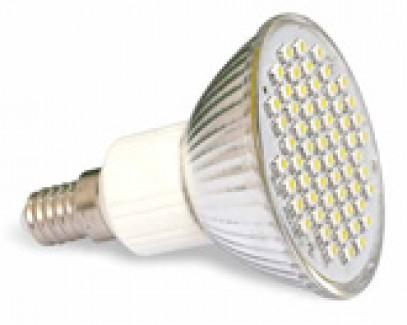 Фото1 LED лампа R63 с цоколем Е14, 200В, 60x3528