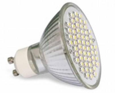 Фото1 LED лампа R63 с цоколем  GU10, 220В, 60x3528