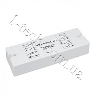 Фото2 RBX-RCV-4/192 RGB контроллер-приемник и пульт RBX-RMT (до 10 зон)