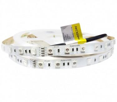 Фото1 RD0060AP - RGB LED лента, SMD 5050, 60 д/м, 24V, 13.2W, IP33