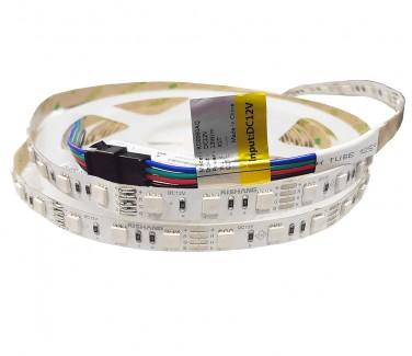 Фото1 RD0060AQ - RGB LED лента, SMD 5050, 60д/м, 12V, 13.2W, IP33