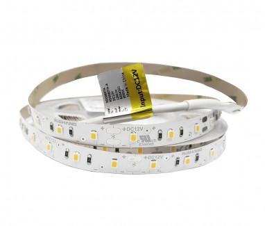 Фото1 RD0060TA-A-WW - LED лента, SMD 2835, 60д/м, 12V, белый теплый (3000К), IP33