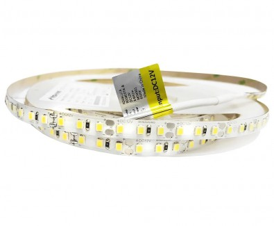 Фото1 RD08C0TA-B-W - LED лента, SMD 2835, 120д/м, 12V, белый холодный (6000К), IP33