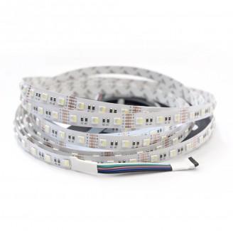 Фото1 MTK-4in1-300RGB+W 5050-12V №1 - Многоцветная LED лента RGB+W, SMD5050, 60 д/м, 12V