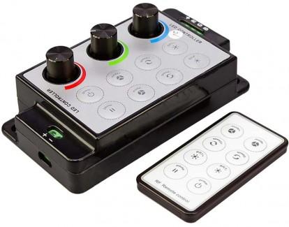 Фото1 RGB контроллер-димер 12-24В, 6А