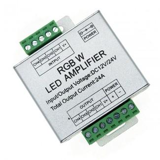 Фото1 LT-AMP41 - RGBW усилитель 12В, 8x3А
