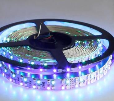 Фото1 RGBW-3528-240-24 Многоцветная RGB LED лента, 240xSMD3528