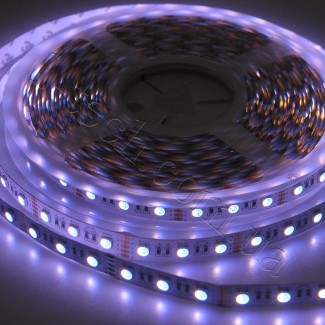 Фото11 RGBWW-5050-60-12 - Многоцветная RGB LED лента + белый теплый, 60xSMD5050