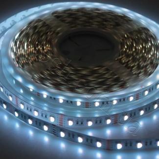 Фото12 RGBWW-5050-60-12 - Многоцветная RGB LED лента + белый теплый, 60xSMD5050