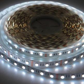 Фото13 RGBWW-5050-60-12 - Многоцветная RGB LED лента + белый теплый, 60xSMD5050