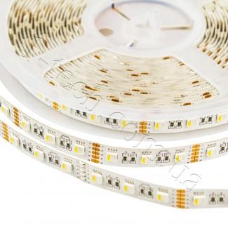 Фото1 RGBWW-5050-60-12 - Многоцветная RGB LED лента + белый теплый, 60xSMD5050