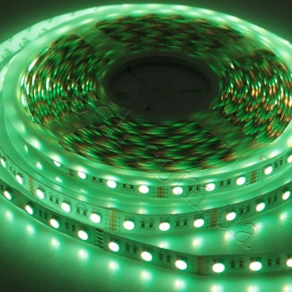 Фото4 RGBWW-5050-60-12 - Многоцветная RGB LED лента + белый теплый, 60xSMD5050