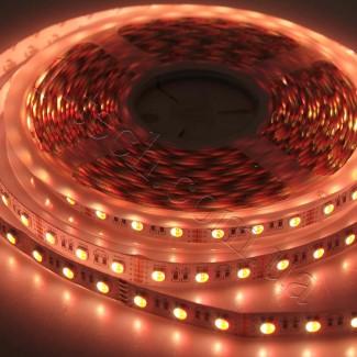 Фото7 RGBWW-5050-60-12 - Многоцветная RGB LED лента + белый теплый, 60xSMD5050