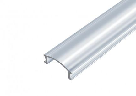 Фото1 РМ матовая - Линза для LED профилей серии ЛП, 5,8*14*2000мм