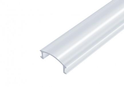 Фото1 РП прозрачная - Линза для LED профилей серии ЛП, 5,8*14*2000мм