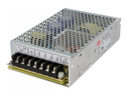 Фото2 RS-100-24 - Блок питания 24 Вольт, 100 Вт, 4,2 А