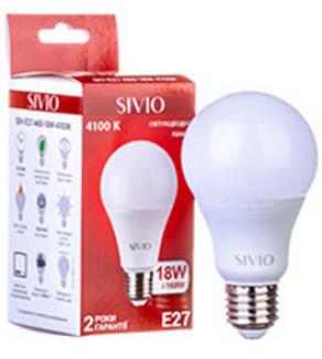 Фото2 SIV-E27-A60-..W-..00K Лампочки A60 с цоколем E27, 220В SIVIO