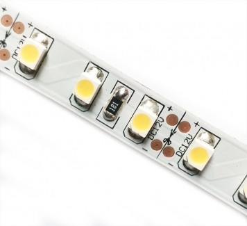 Фото1 MTK-600YF3528-12-Б - Светодиодная герметичная лента SMD3528-Б, цвет - жёлтый, 120 д/м, 12В