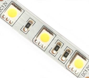 Фото1 МТК-150WF5050-12 - Светодиодная герметичная лента SMD5050, цвет - белый-холодный, 30 д/м, 12В