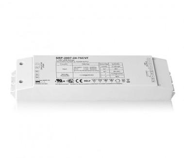 Фото1 SRP-1009-24-75CVF - RGB контроллер RF-приемник / блок питания 75W, 24V