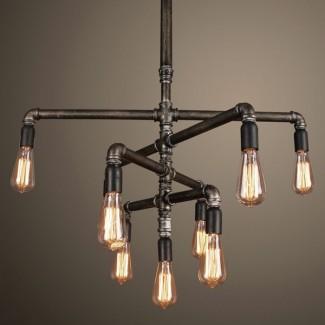 Фото6 SLL E27-ST64-10W - LED лампа филамент, 10W, тип ST64, цоколь E27, вытянутая лампа Эдисона