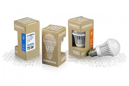 Фото1 LED лампа SUNBRIDGE E27-TGS60 7W
