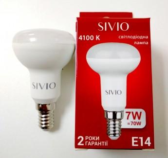 Фото2 SIV-E14-R50-..W-..00K Лампочки R50 с цоколем E14, 220В SIVIO