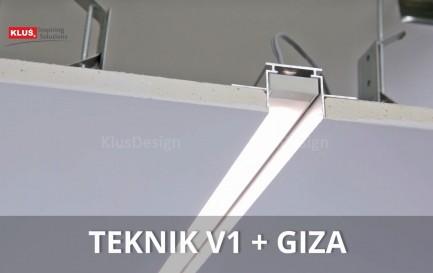 Фото11 TEKNIK - LED-профиль