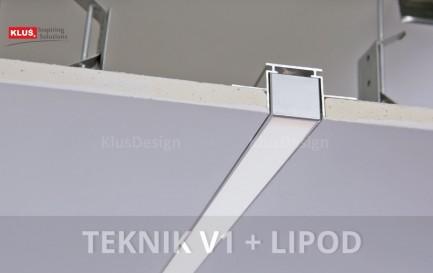 Фото10 TEKNIK - LED-профиль