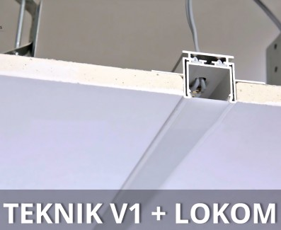 Фото8 TEKNIK - LED-профиль