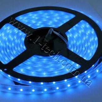 Фото1 TWF2-B Синяя LED лента герметичная IP65, 60xSMD3528