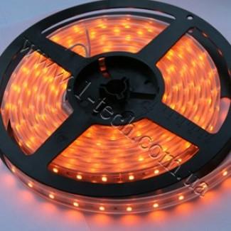 Фото1 TWF2-Y Оранжевая (жёлтая) LED лента герметичная IP65, 60xSMD3528