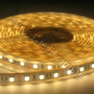Фото1 TWF3-WW Тёпло-белая LED лента герметичная IP65, 60xSMD5050