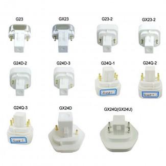 Фото1 LED лампа GX24D-30SMD-5050-3,4W 220AC (warm white)