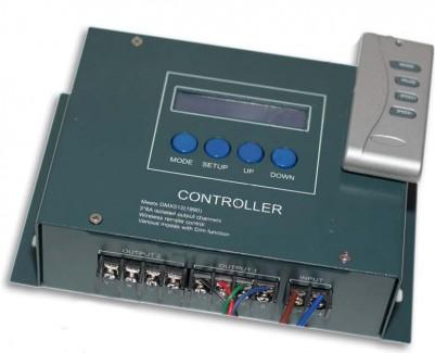 Фото1 WC3-24 - DMX контроллер, 12-24VDC, 8A, 3 канала