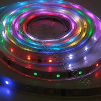 Фото1 WID-RGB-3 Magic Color Цифровая многоцветная RGB LED лента герметичная IP65, 30xSMD5050