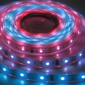 Фото12 WID-RGB-2 Magic Color Цифровая многоцветная RGB LED лента герметичная IP65, 30xSMD5050