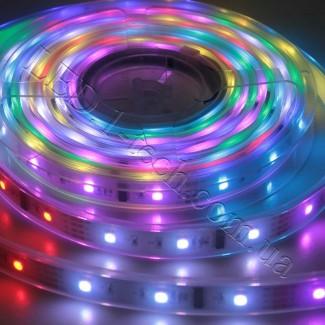 Фото4 WID-RGB-2 Magic Color Цифровая многоцветная RGB LED лента герметичная IP65, 30xSMD5050