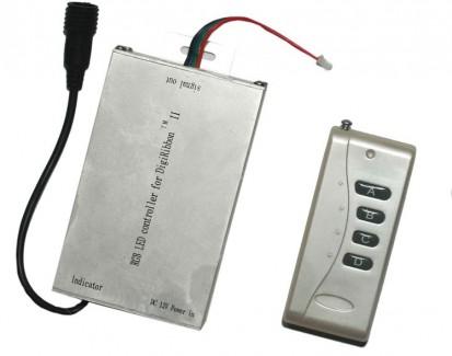Фото1 RGB контроллер с пультом ДУ для полосы WID моноцвет (WC4-A)