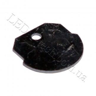 Фото1 Заглушка для ПАС-1964 нержавеющая полукруглая с отверстием