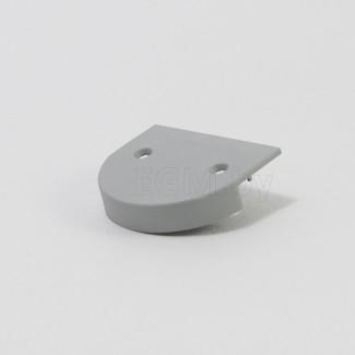 Фото1 ЗН50 - Торцевая пластиковая заглушка полукруглая универсальная для LED профиля серии ЛН