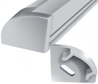 Фото1 ЗПУ.-. Торцевая пластиковая заглушка для LED профиля серии ЛПУ-17