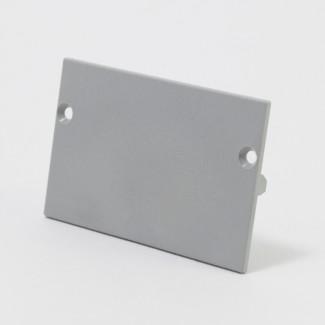 Фото1 ЗС70 - Торцевая заглушка прямая универсальная для LED профиля ЛС-70