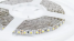 мини фото2 AVT-600СW3528-12 - Светодиодная лента SMD 3528, 120 светодиодов, 12 В, холодный белый